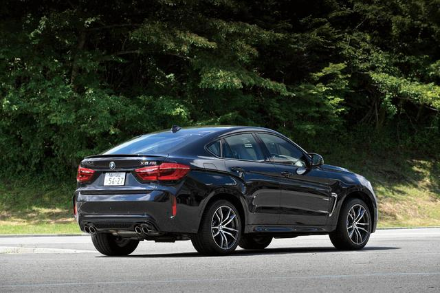 画像: X6 Mは、M3やM5などのMモデルと同じラインにある存在で、BMW M社により開発されたモデル。