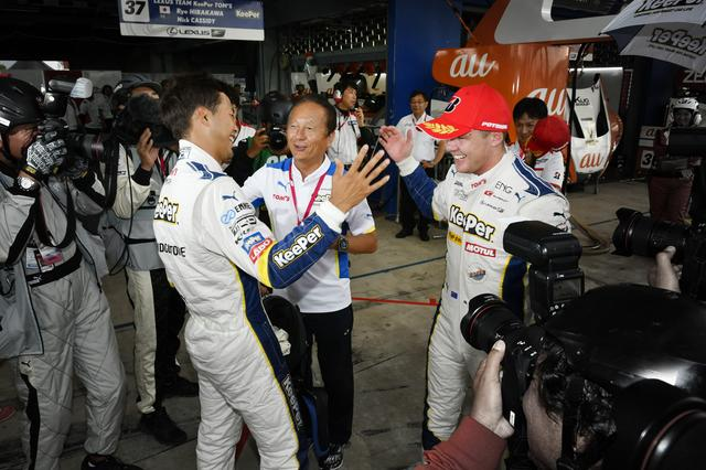 画像: ラストアタックで逆転ポールを奪取した平川亮、トヨタの若きエースとなるのか?