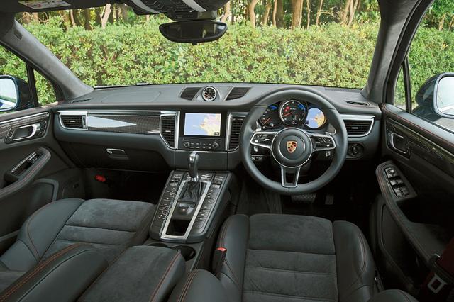 画像: ライジングコンソールには走行モードや車高調整のスイッチ、空調設定など多くの操作スイッチが並ぶ。