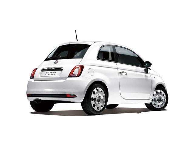 画像: 500クロマータのボディカラーはパソドブレ・レッドとボサノバ・ホワイトの2色。それぞれ50台が販売される。