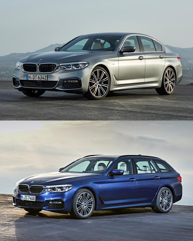 画像: BMW 5シリーズセダン/ツーリング
