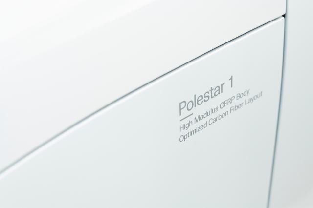 画像: ポールター1のボディにはCFRPが採用される。
