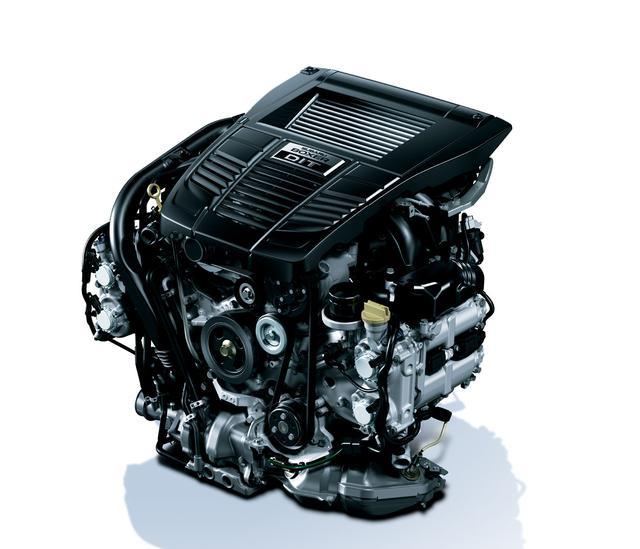 画像: EJ20エンジンは現役引退。代わりに専用チューニングを施されたFA20DITが国内仕様に搭載される。