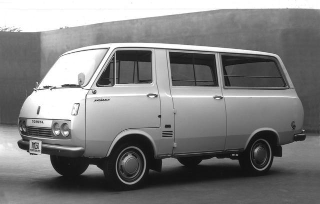 画像: 初代ハイエース バン。1967〜1977年。