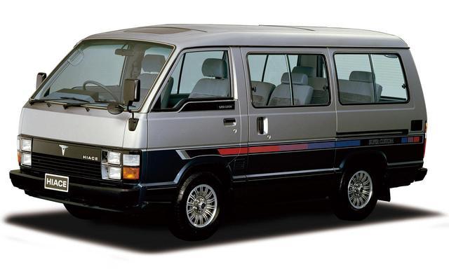 画像: 3代目ハイエース ワゴン。1982〜1989年。