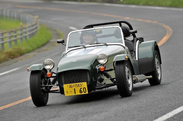 画像: 【スポーツカー写真館】Vol.014 ケータハム・セブン 160は軽規格のライトウエイトスポーツ! - Webモーターマガジン