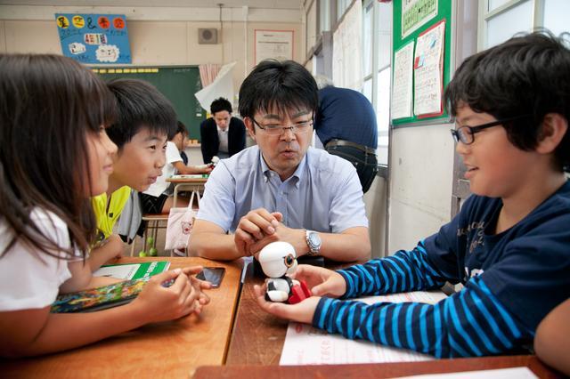 画像: 子供たちに大人気。学校で教材としても使われている。