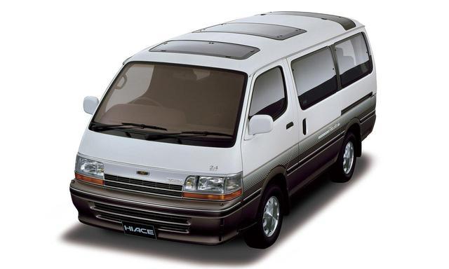 画像: 4代目ハイエース ワゴン。1989〜2004年。
