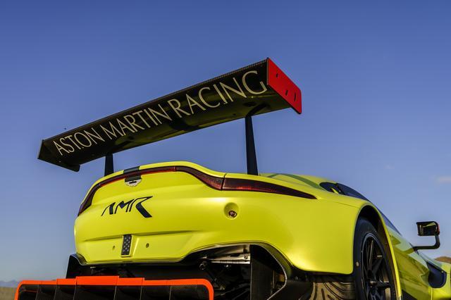 画像: 早くも公開された新型のアストンマーティン ヴァンテージ GTE。