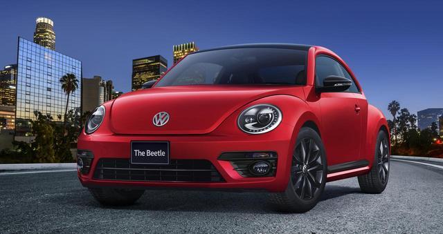 画像: The Beetle Black Style ボディカラー:トルネードレッド/ブラック。