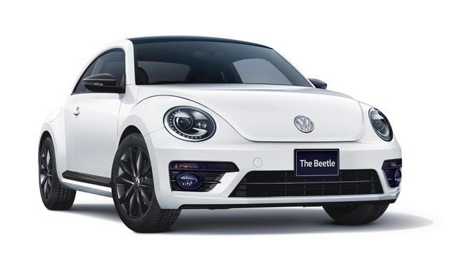 画像: The Beetle Black Style ボディカラー:ピュアホワイト/ブラック。
