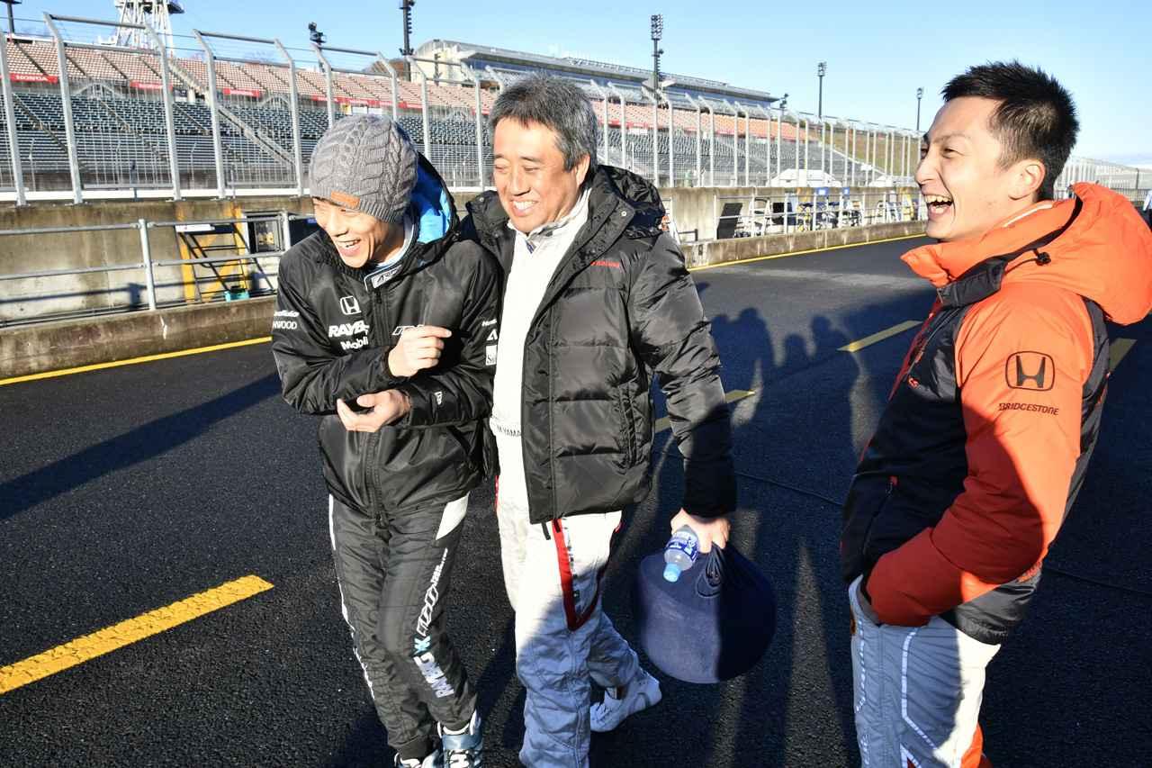 画像: HONDAのGTドライバーと組むのは世界的に名の知れたアノMS部長