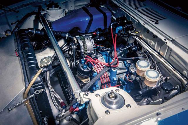画像: 欧州仕様にラインアップされた13B型エンジンにブリッジポート加工を施し300psを発生。(photo:Courtesy RM Sotheby's)