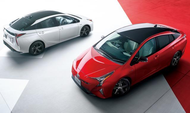 画像: 11月1日に発表されたプリウス20周年記念の特別仕様車。