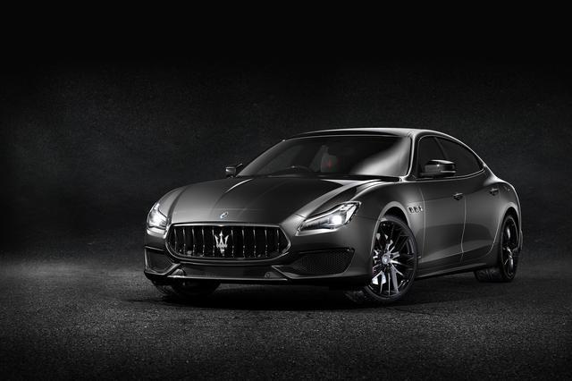 画像: マセラティ クアトロポルテ GTS ネリッシモ・カーボン・エディション。至高の黒でまとめられた特別限定車。