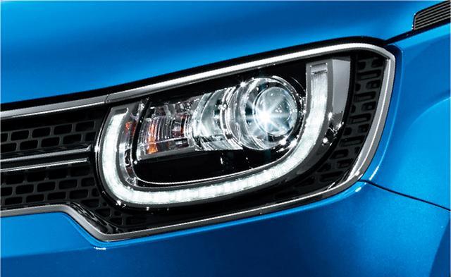 画像: イグニス SセレクションはLEDヘッドライト、LEDポジションライトを標準装備する。