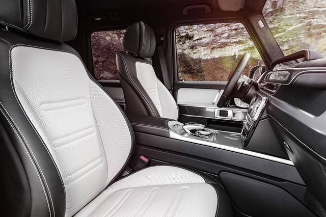 画像: フロントシートはオプションが充実している。