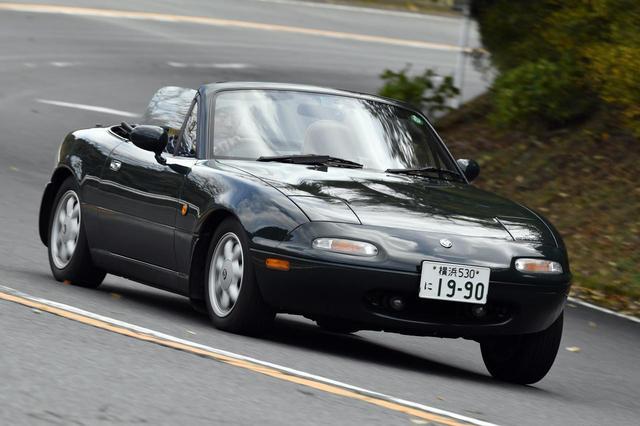 画像: 写真はNAロードスターVスペシャル。当時の価格は218万5660円。