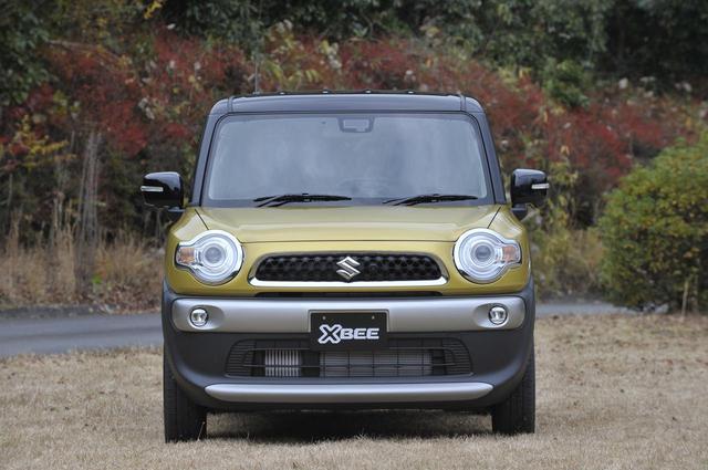 画像: 軽自動車のハスラーと顔つきは似ているが、全幅に余裕のある小型車らしくサイドのラインなどにボリュームを持たせている。