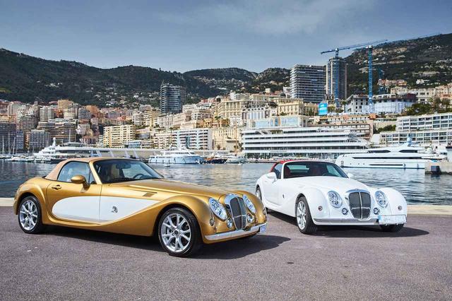 画像: 欧州で販売されている左ハンドル仕様の光岡自動車 Himiko。内外装が特別仕様なのだという。