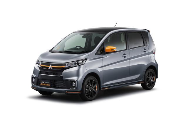 画像: eKカスタム「ACTIVE GEAR」(4WD)ACTIVE GEAR コンプリートパッケージ装着車。