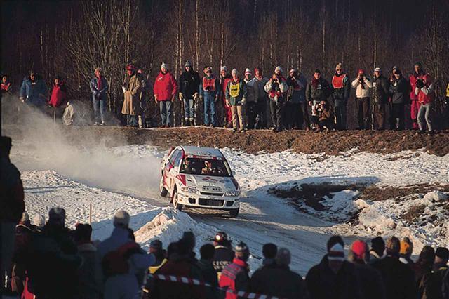 画像: WRCでのヒトコマ。