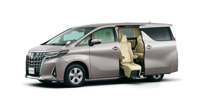 画像: ウェルキャブも同様の改良を施し、サイドリフトアップチルトシート装着車が新設定された。
