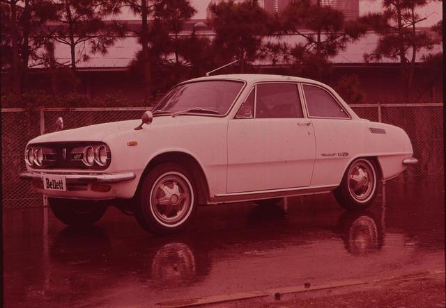 画像: こちらは後期型にあたる1968年モデル。69年にはSOHCの新エンジン、70年には1800GTがが登場した。