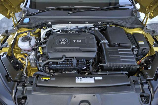 画像: 基本的にゴルフRと同じ280psと350Nmを発生する2L直4DOHCターボエンジン。駆動方式はフルタイム4WDの4モーション。