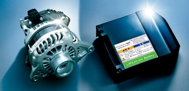 画像: スズキはISG(モーター機能付き発電機)と小型バッテリーを組み合わせたマイルドハイブリッドを採用する。