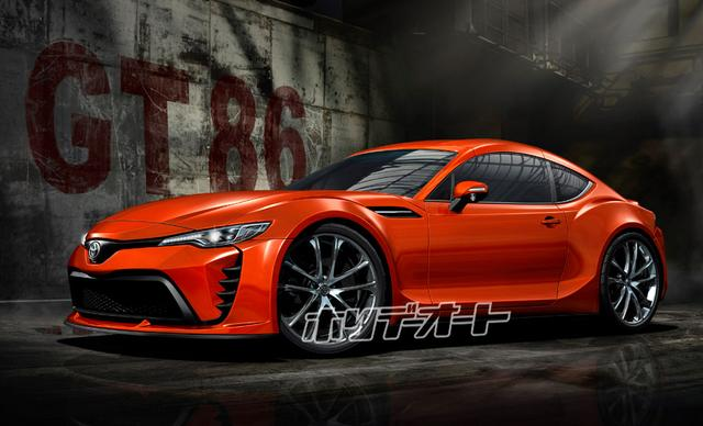 画像: フルモデルチェンジというよりラージチェンジに近い手法で開発される次期トヨタ86の予想CG。