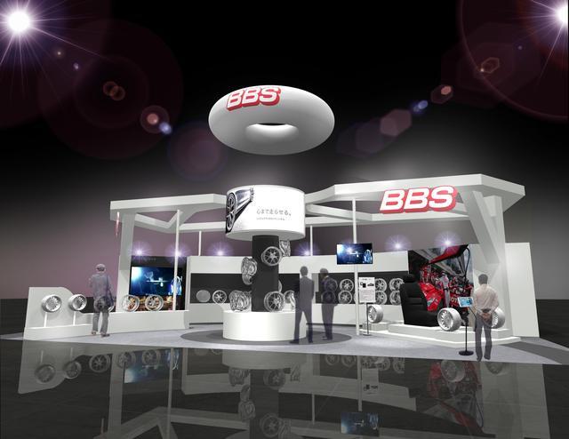 画像1: 【東京オートサロン2018】最新のBBSテクノロジーを最先端のAR技術で実体験