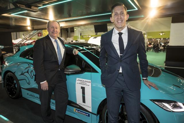 画像: EVによるモータースポーツにおいてジャガーとミシュランは関係を深めている。