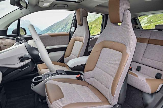 画像: 新型BMW i3ロッジのシート。