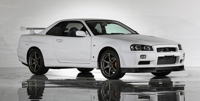画像: ナント、新車未登録のR34GT-R Vスペック・ニュルが登場。3520万円でご成約!