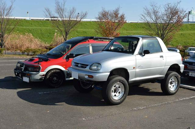 画像: スズキX90とRVRスーパースポーツギア。懐かしい!