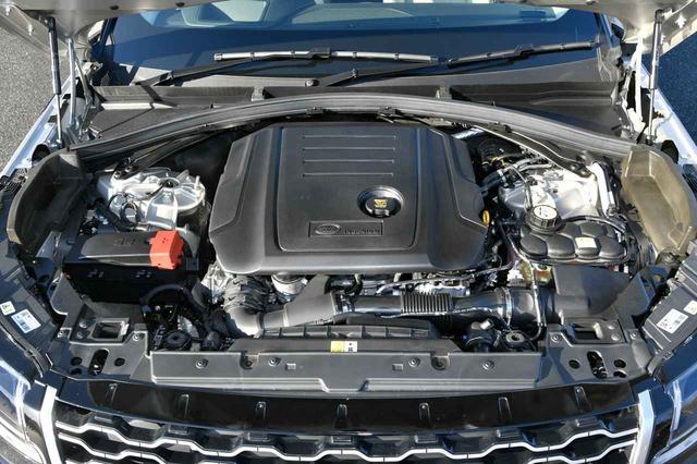 画像: レンジローバー ヴェラールの2L直4ディーゼルターボエンジンは180ps・430Nmを発生する。