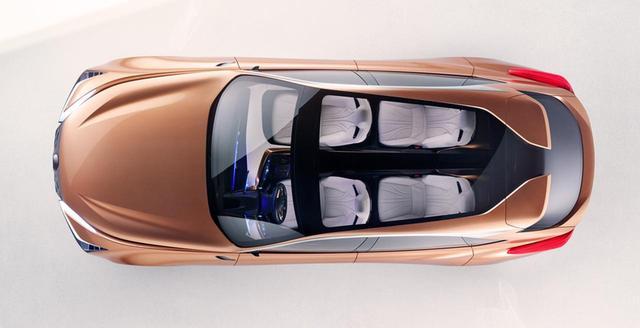 画像: 全長とホイールベースはLSよりもやや短い。コンセプトカーは2列シートだが、市販の際には3列シート車もラインアップに加わる可能性が高い。