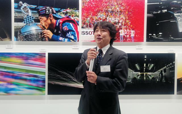 画像: 写真展実行委員長の田村弥氏