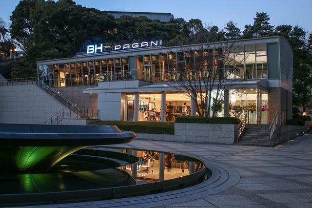画像: 永田町にグランドオープンした「パガーニ・東京ショールーム」。
