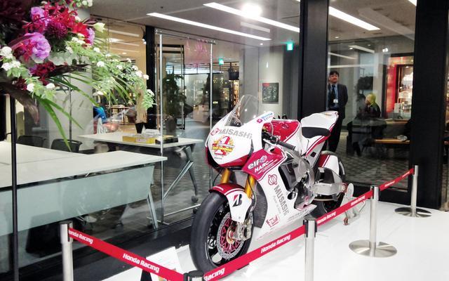 画像: 全日本ロードレースチャンピオンマシン
