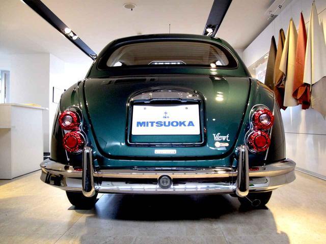 画像: マイ ビュート 25周年記念特別仕様車。この外装色はブリティッシュグリーンM。