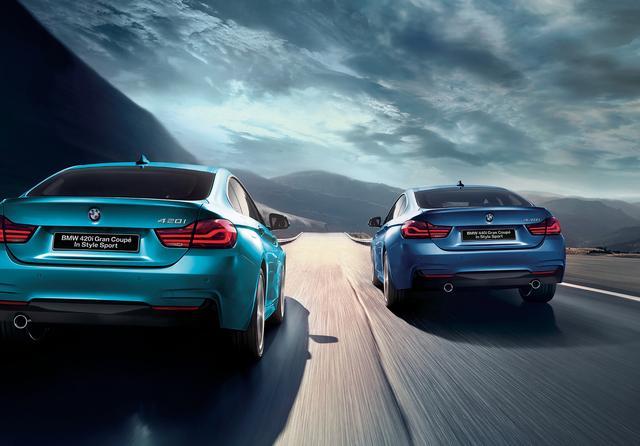 画像: 420i In Style Sport/420i xDrive In Style Sportはベース車の66万円高、440i In Style Sportは63万円高だ。