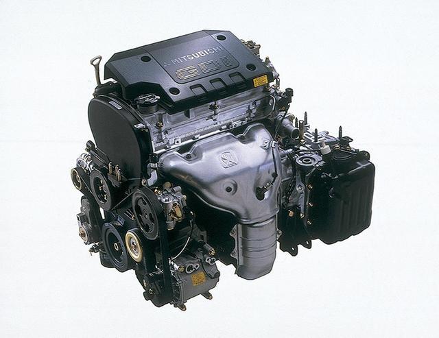 画像: 発売当時の搭載エンジンは4G63型GDIのみ。