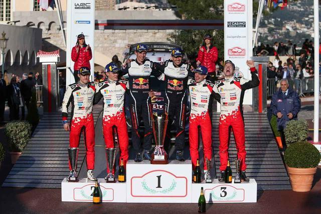 画像: 【WRC】復帰2年目のトヨタが表彰台の2つを獲得。2018年WRCの第1戦、ラリー・モンテカルロ