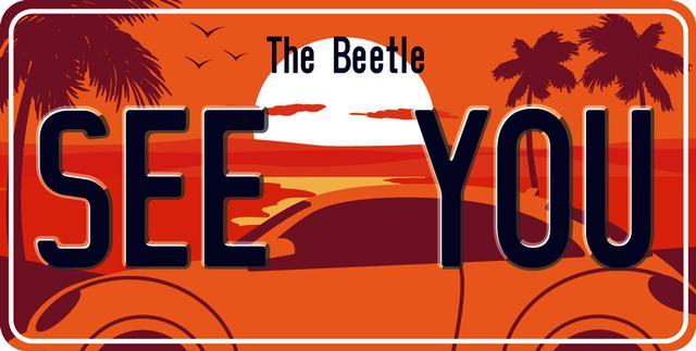 """画像: """"See You The Beetle"""" キャンペーンロゴ 。"""