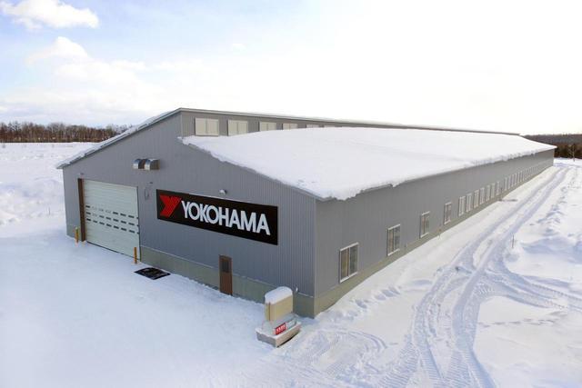 画像: 横浜ゴムの北海道タイヤテストセンター(TTCH)に完成した屋内氷盤試験場。