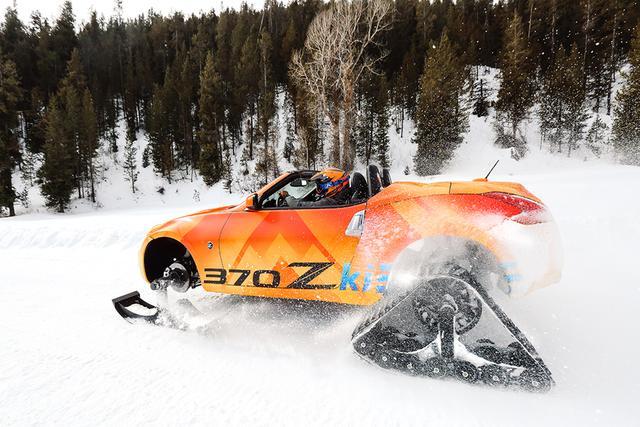 画像1: 【トピック】私をZでスキーに連れてって シカゴオートショーに登場する日産フェアレディZのスノーモービル