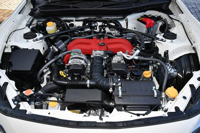 画像: 86GRのエンジンはノーマルのままで、最高出力207/7000pm、最大トルク212Nm/6400〜6800rpmとなる。