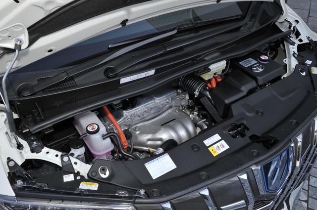 画像: パワートレーンは2.5ℓハイブリッド+電気式無段変速(上)と3.5ℓV6+8速AT(下)のほかに、2.5ℓ直4+CVTもあり、計3タイプとなる。4WDはハイブリッドのみとなる。